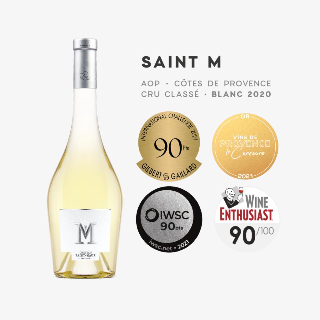 Médaille Saint-M Blanc